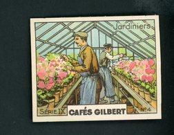 CAFÉS GILBERT S 9 / N° 4 - LES METIERS - JARDINIERS - Thé & Café