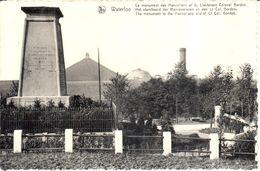 Waterloo - CPA - Le Monument Des Hanovriens Et Du Lieutenant Colonel Gordon - Waterloo