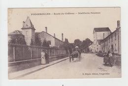 70 - FOUGEROLLES / ROUTE DU CHATEAU - DISTILLERIE PEUREUX - Autres Communes
