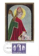 St.Adalbert Bishop Of Prague, Evangelist Of Poland (2scans) 3.5. 1966 - Cartes-Maximum (CM)