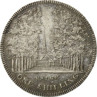 Monnaie, Grande-Bretagne, Silver Token, Bastin Cheltenham, Shilling, 1811, SUP - 1662-1816 : Anciennes Frappes Fin XVII° - Début XIX° S.