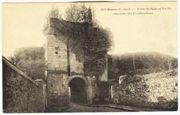 CPA 22 DINAN Porte De Saint Malo -fortification - Dinan