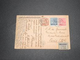 TCHÉCOSLOVAQUIE - Carte Postale De Praha Pour La France Par Avion En 1945 ( étiquette Avion ) - L 16323 - Tschechoslowakei/CSSR