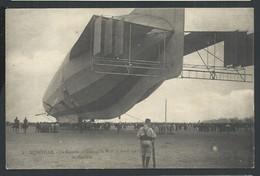 +++ CPA - Aviation  Avion - LUNEVILLE 54 - Un ZEPPELIN Au Champ De Mars Vu D'arrière - Avril 1913 - Dirigeable Ballon // - Dirigeables