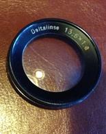 Lentille Ancienne Pour Appareil Photo De Marque DELTALINSE 13,5  X 1.6 - Lenses