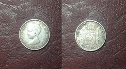 ESPAGNE - Alphonse XIII - 50 CENT. 1892 PG M - Collections