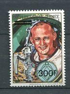 103 GUINEE 1991 - Aldrin Espace Avec Surcharge - Masonic Franc Maconnerie Freemasonry - Neuf ** (MNH) Sans Charniere - Franc-Maçonnerie