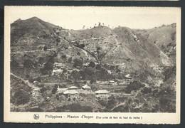 +++ CPA - PHILIPPINES - Mission D' ITOGON - Vue Prise De Face Du Haut Du Rocher - Scheut - Nels  // - Missions