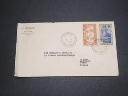 GUYANE - Enveloppe De Cayenne Pour La France En 1949 - L 16328 - Guyane Française (1886-1949)