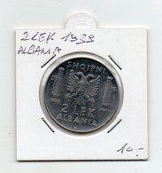 Italia - 1939 - Colonia Albania - 2 Lek - Vittorio Emanuele III° - Vedi Foto - (FDC9480) - Albanie