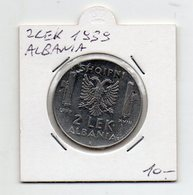 Italia - 1939 - Colonia Albania - 2 Lek - Vittorio Emanuele III° - Vedi Foto - (FDC9481) - Albanie