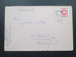 SBZ 6.11.1945 Ost Sachsen Nr. 46 EF Dresden. Breitrandige Marke! - Zone Soviétique