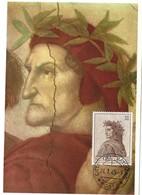 Dante No:1272 , 21.7. 1965, 10 L.(2scans) - Cartes-Maximum (CM)