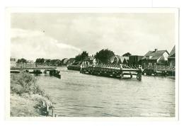 1900's, Netherlands, Lisse, Lisserbrug, Canal. Real Photo Pc, Unused. - Lisse