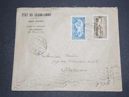 GRAND LIBAN - Enveloppe De Beyrouth Pour Alexandrie En 1926 - L 16342 - Great Lebanon (1924-1945)