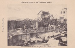 88 / GUERRE 14.18 / NEUVEVILLE LES RAON / L USINE AMOS - France