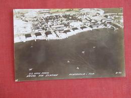 RPPC - Naval Air Station-- Top Border Scotch Tape---- Pensacola  Florida >   ---- Ref 2944 - Pensacola