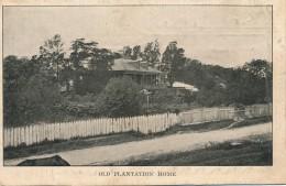 H129 - ÉTATS-UNIS - Old Plantation Home - New Orleans