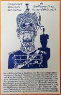 """CPA Guerre De 14. Editeur: G.S.B Toulouse """"Ce Que Vous Trouverez Dans La Tête De Guillaume II En Hussard De La Mort"""" - Oorlog 1914-18"""