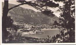 MONTE CARLO VU DES JARDINS DE MONACO - Monte-Carlo