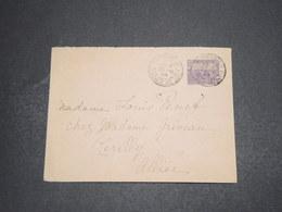 TUNISIE - Entier Postal De Hammam Lif Pour La France En 1919 - L 16348 - Tunisia (1888-1955)