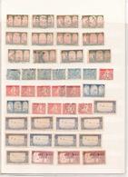 Lot De 105 Timbres Tout état Algérie - Algérie (1924-1962)