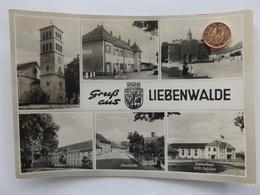 Liebenwalde, Kulturhaus, Havelstraße, Postamt, Bahnhof,DDR, 1967 - Liebenwalde