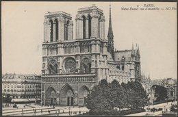 Vue D'Ensemble, Notre-Dame, Paris, C.1905-10 - Neurdein CPA - District 04
