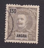 Angra, Scott #30, Used, King Carlos, Issued 1897 - Angra