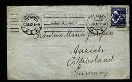 A5436) South Australia Cover Adelaide 27.07.12 To Germany - 1855-1912 South Australia