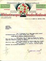 REPUBLIQUE TCHEQUE.HRADEC KRÁLOVÉ.VICTORINA SPOL. - Invoices & Commercial Documents