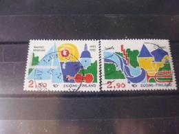 FINLANDE TIMBRE     YVERT N° 1176.1177 - Finlande