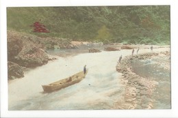 19722 - Japan River Small Boat - Japon