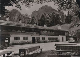 Berchtesgaden - Alpengasthof Vorderbrand - Ca. 1960 - Berchtesgaden