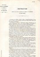 GUERRE De 1870 Decret N°18 Du 29 Octobre 1870 Mesures à Prendre Pour Empêcher Le Ravitaillement De L'armée Ennemie - Decrees & Laws