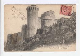 Viens. Vaucluse. Le Château. Avec Visiteurs. (2747) - France