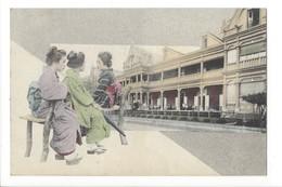 19723 - Japan Girls In Kimono - Japon