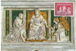 Roma Basilica Di S.Pietro In Vincoli, 16.11.1964, 200 L. (2scans) - Cartes-Maximum (CM)