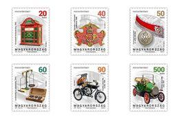 Hungary - 2018 - Postal History, Part II - Mint Definitive Stamp Set - Hungría