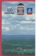 SUEDE--Télécarte 100 --Paysage Chip SC5 - Suède