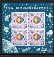GHANA 1964   BLOC ESPACE  YVERT N°B9  NEUF MNH** - Space