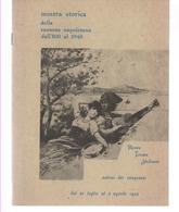 ETTORE DE MURA MOSTRA STORICA DELLA CANZONE NAPOLETANA 1974 CASTELLAMMARE TERME - Libros, Revistas, Cómics