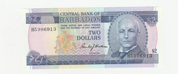 Barbados 2 Dollars - USZ - Barbades
