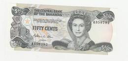 Bahamas  Fifty Cents USZ - Bahamas