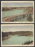 +++ Lot 2 CPA - Barrage De La Warche - Afdamming - Pont De HAELEN - Partie Du Lac   // - Bütgenbach
