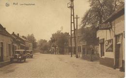 MOLL - MOL : Laer-Voogdijstraat - TRES RARE CPA - Cachet De La Poste 1934 - Mol