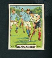 CAFÉS GILBERT S 3 / N° 8 - SPORTS - HOCKEY - Thee & Koffie