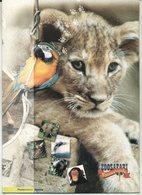 """2002 Italia, Folder  """" Zoosafari Fasanolandia """" Al Prezzo Di Copertina - 1946-.. République"""