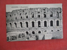 Tunisia  Eldjem L'Amphitheatre  -- Ref 2945 - Tunesië