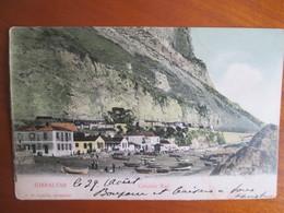 Gibraltar , Catalan Bay , Dos 1900 - Gibraltar